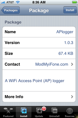 New App – APlogger