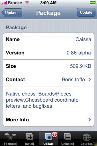 Caissa Update 0.86