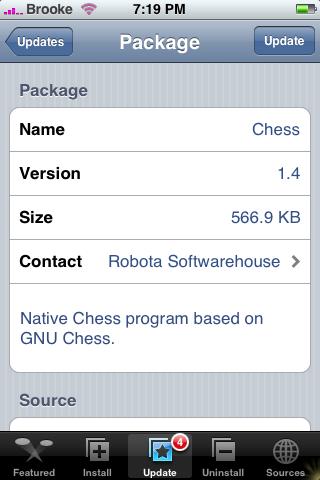 Chess Update 1.4