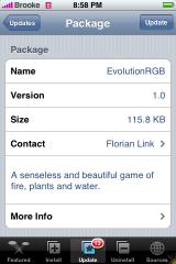 EvolutionRGB Update 1.0