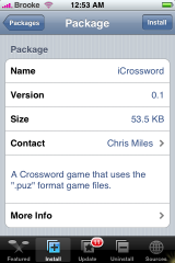 iCrossword 0.1