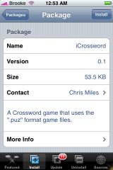 iCrossword 0.1