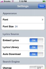 iLyrics ENG Update 0.21-1