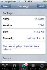 Installer 3.0b9