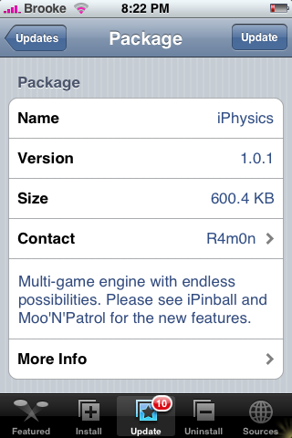 iPhysics Update 1.0.1