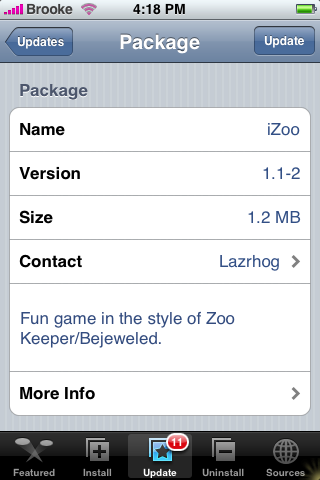iZoo Update 1.1-2