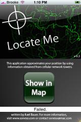 LocateMe 0.3