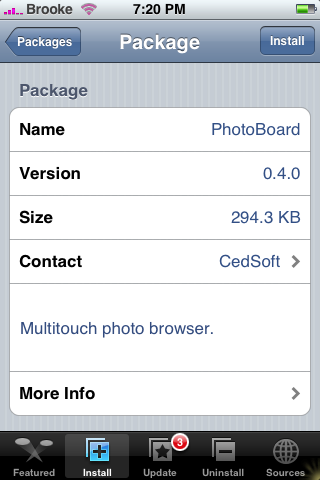 PhotoBoard Update 0.4.0