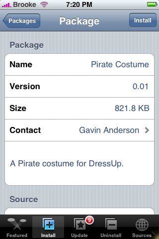 Pirate Costume 0.01