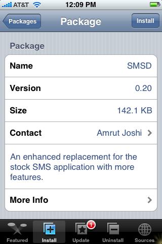 Network App – SMSD 0.20