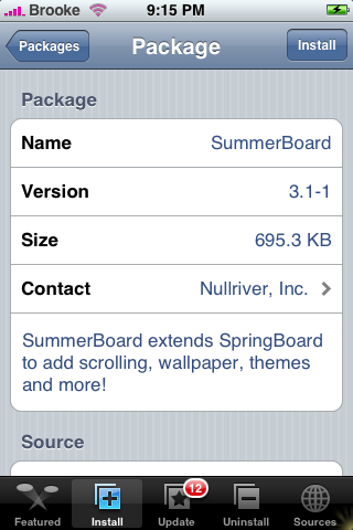 SummerBoard Update 3.1-1