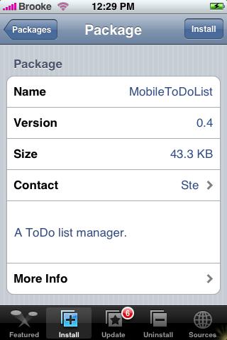 MobileToDoList 0.4