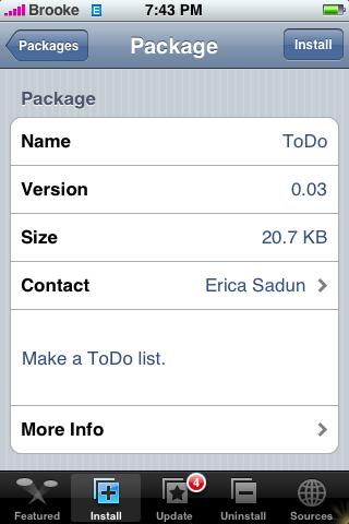 ToDo Update 0.03