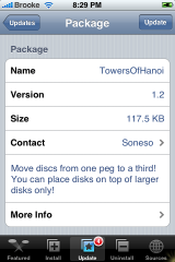Towers of Hanoi Update 1.2
