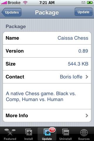 Caissa Chess 0.89