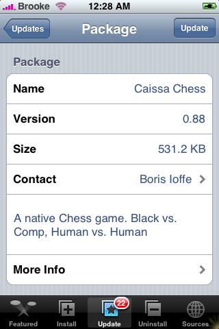 Caissa Update 0.88