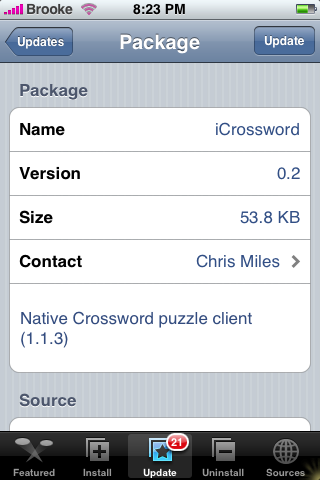 iCrossword 0.2