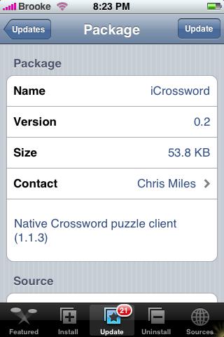 iCrossword 0.2