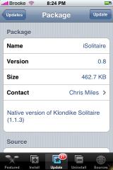 iSolitare 0.8