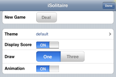 iSolitaire 0.81