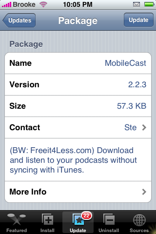 MobileCast 2.2.1 Update – Vidcast Compatible