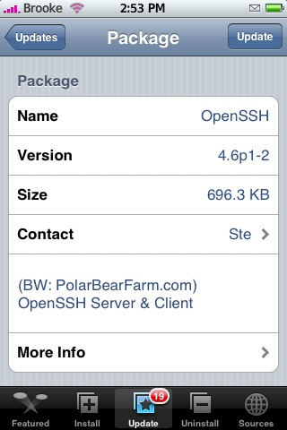 OpenSSH 4.6p1-2