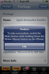 Apple Screenshot Enabler 1.0