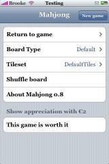 Mahjong 0.8