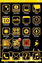 Yellow Theme by iPodTouchFans