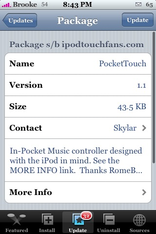 PocketTouch 1.1