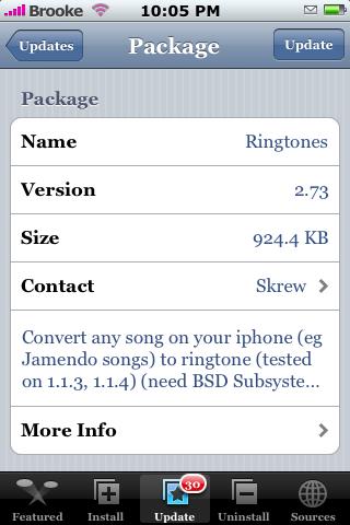 Ringtones 2.73
