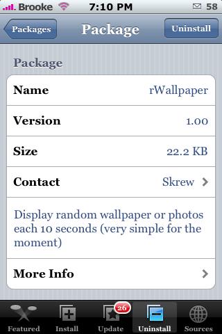 rWallpaper 1.00