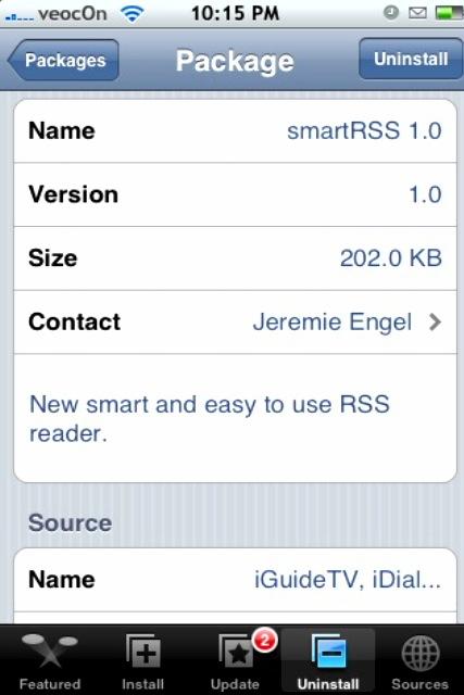 smartRSS 1.0