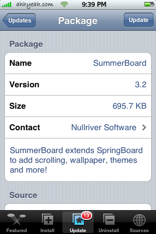 summerboard iphone 3g