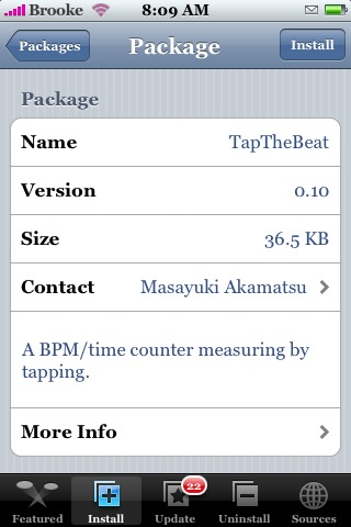 TapTheBeat 0.10