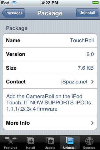 TouchRoll 2.0