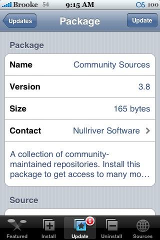 Community Sources 3.8