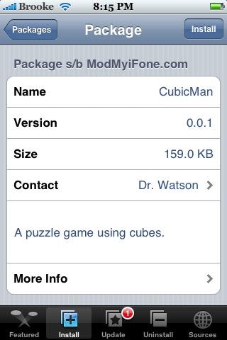 CubicMan 0.0.1