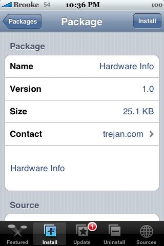 HardWare Info (HWInfo) 1.0