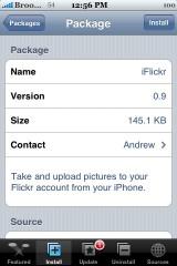 iFlickr 0.9