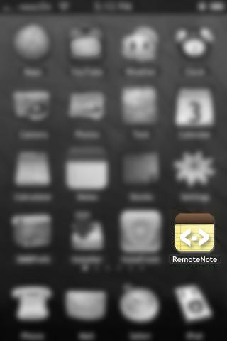 RemoteNote v0.0.1-1