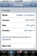 Installer to AppStore