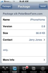 iPhoneHome 0.8