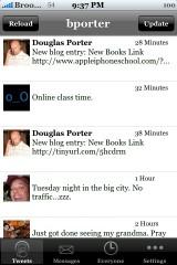 Mobile Twitter 1.5