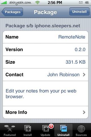 RemoteNote 0.2.0