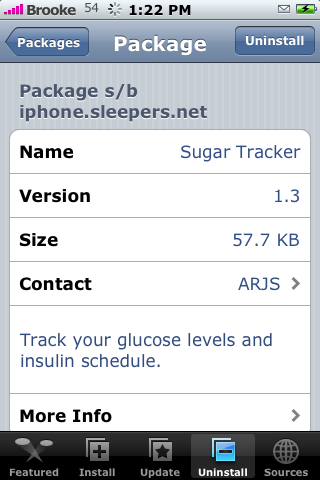 SugarTracker 1.3