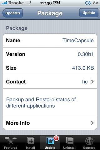 TimeCapsule 0.30b1 & 0.30b2