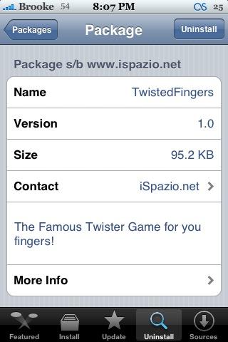 TwistedFingers 1.0
