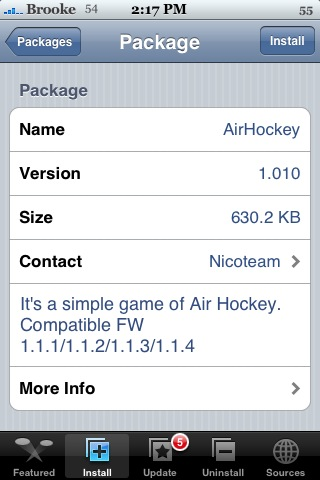 AirHockey 1.010 & Earth3D 2.117