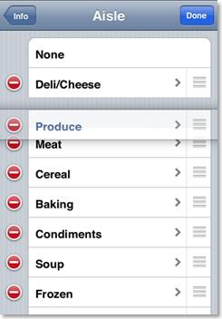 groceryZen – AppStore App – Sneak Preview